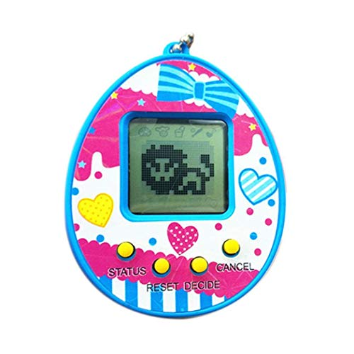 evelove Mini Handheld Game Pet Game Machine Toy Retro Video Game C Electronic Pets