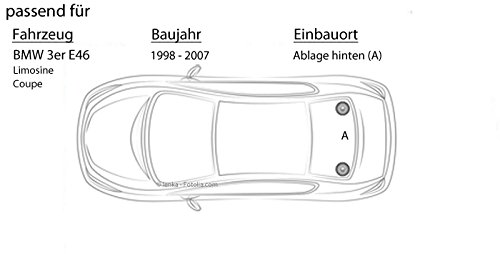 Einbauset f/ür BMW 3er E46 Lautsprecher Boxen JVC CS-J610X JUST SOUND best choice for caraudio 16cm Auto Einbauzubeh/ör 300Watt Koaxe KFZ PKW Paar