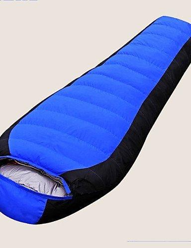 Schlafsack Mumienschlafsack Einzelbett(150 x 200 cm) -15? Enten Qualitätsdaune 1500g 215X80 Outdoor warm halten Gazelle Outdoors