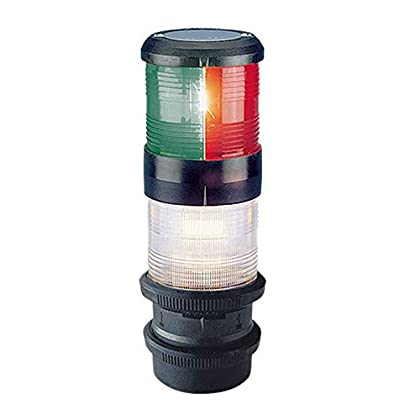 Image of Aqua Signal Tricolor Anchor Navigation Light with Quick Fit Mount Navigation Lights