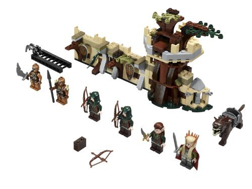 LEGO The Hobbit Mirkwood Elf Army (276pcs) Figures Building Block Toys