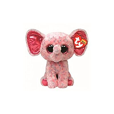 "Holland Plastics Original Brand TY Beanie Boos 6"" Ellie Elephant, Perfect Plush!: Toys & Games"