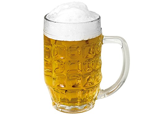 Bormioli Rocco 6 Biergläser Bierseidel Malles 660ml, mit Füllstrich bei 0,5l