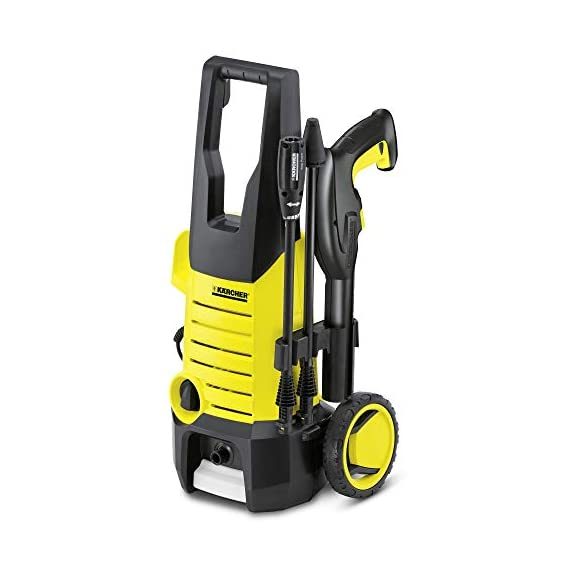 karcher k2.360 1400 watt high pressure home and car washer with wheels (120 bar, 6m cable) 1