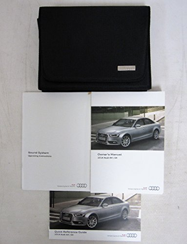 2014 Audi A4 S4 Owners Manual
