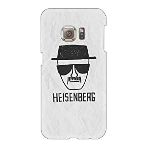 Excellent Hard Phone Case For Samsung Galaxy S6 With Provide Private Custom Trendy Heisenberg On Paper Pattern IanJoeyPatricia