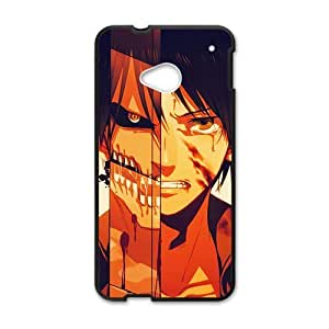 Brown distinctive boy Cell Phone Case for HTC One M7