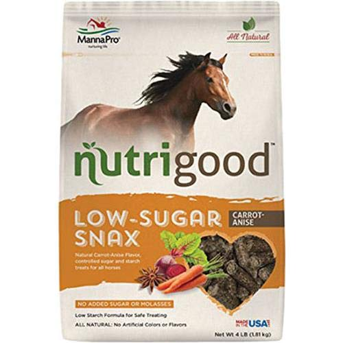 Carred Anise Nutrigood Low-Sugar Snax for Horses, Carred Anise