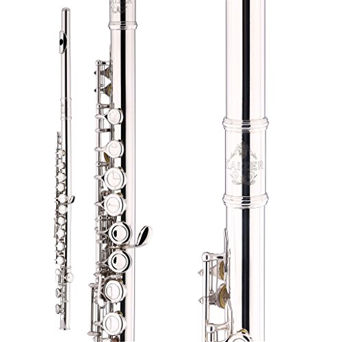 Kaizer Flute C Key 1000 Series Closed Hole Nickel Silver