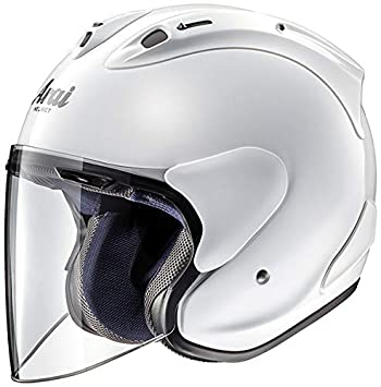 Amazon.es: casco ar3345lawh Arai Jet Potes de conserva - centímetros X White/Blanco, Talla. L