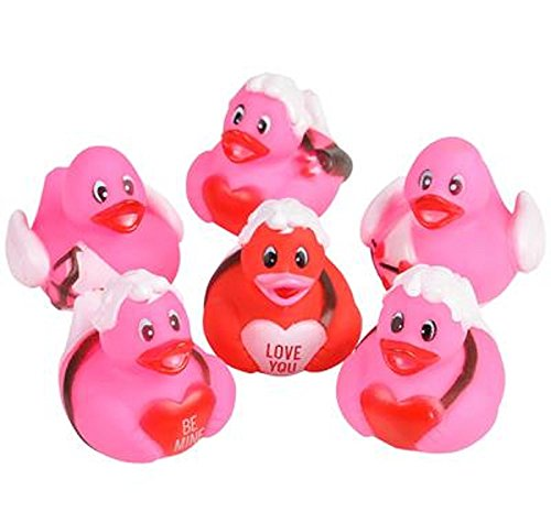 [VALENTINES CUPID RUBBER DUCKIES 1 DOZEN] (Rubber Ducky Halloween Costume)