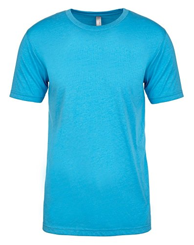 Next Level Men's Rib Collar Tri Blend Satin Label T-Shirt