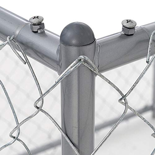 Lucky Dog Galvanized Chain Link Kennel (10' x 5' x '4) by Lucky Dog (Image #3)