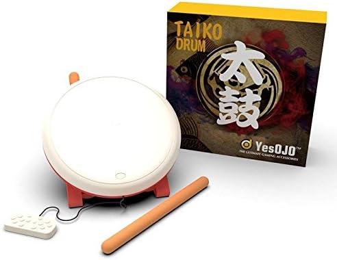 Taiko - Controlador de tambor compatible con interruptor N-Switch, tambor Taiko Baquetas de Taiko, accesorios para videojuegos compatibles con interruptor N-Switch: Amazon.es: Videojuegos