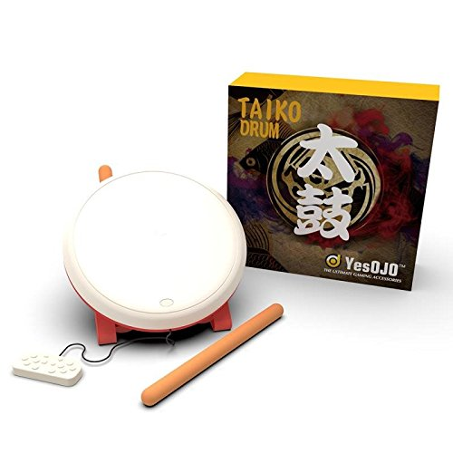 Taiko Drum Controller Compatible with N-Switch, Drum Controller Taiko Drum Sticks Video Games Accessories Compatible…