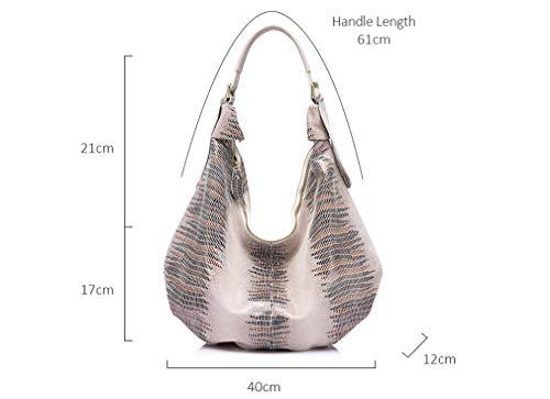 Bags Hobo Bag Animal Tote Beige Handbag Pattern qwCfzEEx