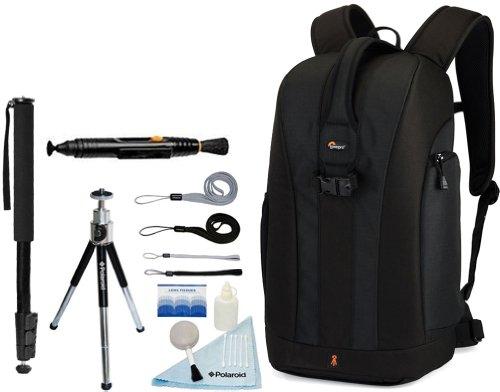 Lowepro Flipside 300 Backpack (Black)+ Accessory Kit for Canon EOS Rebel T3/T3i/T2i/T1i/EOS 1D MARK III/1D MARK IV/1DS MARK II/5D/7D/20D/30D/40D/50D/60D/XS/Xsi/Xti SLR Cameras, Best Gadgets