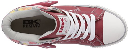 Rot Rot Sneakers Top High 12 British Rot Roco Rot Damen Knights wx1gXn84q0