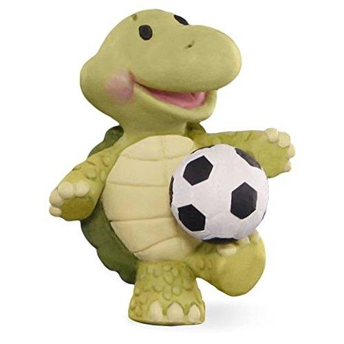 Hallmark Merry Miniatures Soccer Turtle Figurine