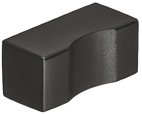 Pomo para muebles de Gedotec de acero inoxidable negro, con ...