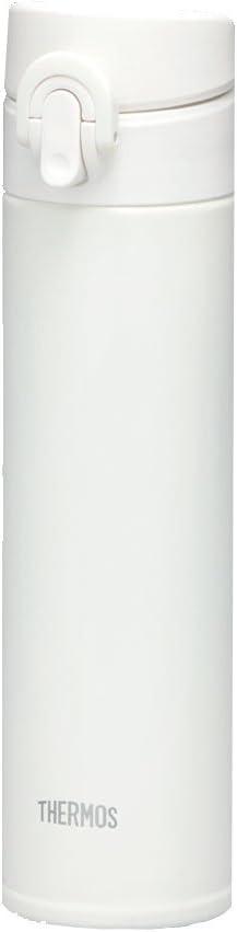 サーモス(THERMOS) 真空断熱ケータイマグ Premium Collection JNI-402 【ワンタッチオープンタイプ】 0.4L (オールホワイト)