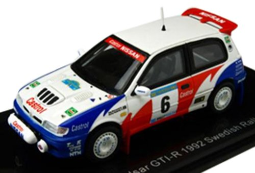 LUMYNO 1/43 Nissan Pulsar GTI-R 92 Swedish Rally in 3   6 S.Blomqvist (japan import)