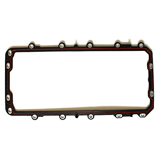 ECCPP Compatible fit for Engine Oil Pan Gasket Automotive Replacement Cylinder Oil Pan Gasket for 1991-2016 Lincoln Town Car 4.6L 5.4L V8 SOHC 24V DOHC - Oil Gasket Pan 350 Engine