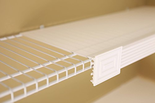 Help MyShelf Wire Shelf Cover & Liner Kit For 5, 5-12''/16'', White by Help MyShelf