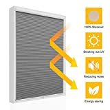 SBARTAR 27 inch x 64 inch Window Blinds Cordless