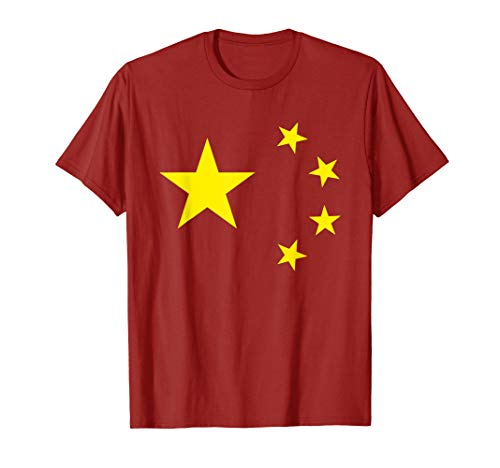 Chinese Flag China Stars T-Shirt