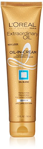L'Oréal Paris Hair Expert Extraordinary Transforming Oil-in-Cream, 5.1 fl. oz. (Packaging May Vary)