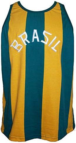 Camisa Brasil Basquete 1963 Liga Retrô Listrada P