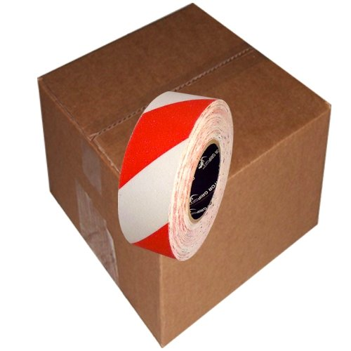 Gator Grip Premium Red/White Non-Skid Tape 2 inch x 20 yard (6 Roll/Case)