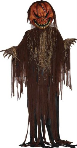 forum novelties inc scary pumpkin prop 12 ft - Animated Halloween Decorations