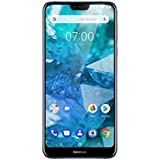 Nokia 7.1 5.8-Inch Android One UK SIM-Free Smartphone with 3GB RAM and 32GB Storage - Blue