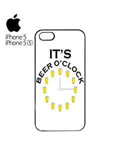 It's Beer O'clock Pub Mobile Cell Phone Case Cover iPhone 5&5s Black
