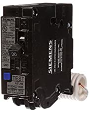 Siemens QA120AFCP 20-Amp Single Pole 120-volt Plug-On Combination AFCI Breaker