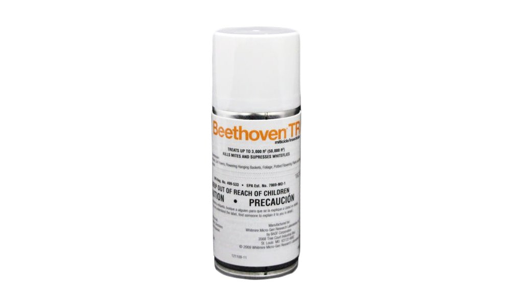 Beethoven TR 2 oz (1 Count) Total Release Insecticide Miticide Aerosol Fogger Spider Mite Killer Bomb Whitefly Mites Pest Control