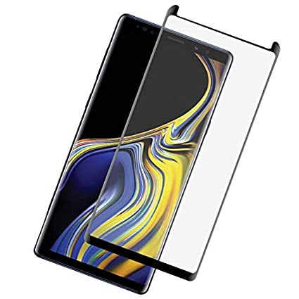 Olixar for Samsung Galaxy Note 9 Screen Protector - Tempered Glass - Case  Friendly Protection - Easy Application - for Galaxy Note 9 (2018) - Black