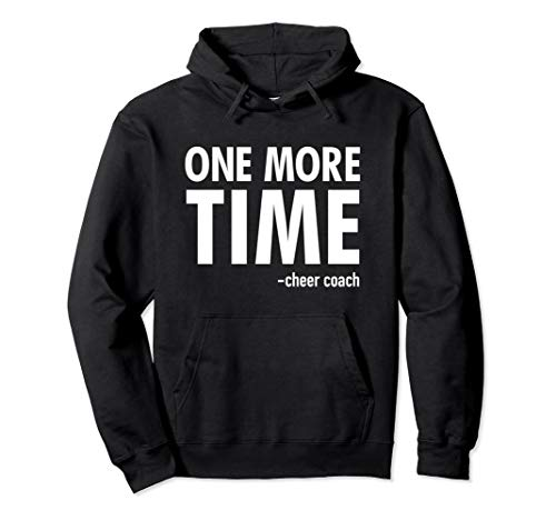 Cheer Coach Hoodie Cheerleading Gift Pullover Sweatshirt ()