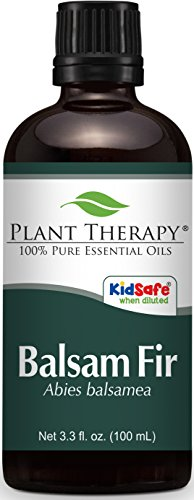 Plant Therapy Balsam Fir Essential Oil. 100% Pure, Undiluted, Therapeutic Grade. 100 ml (3.3 oz).