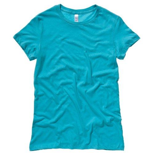 Bella Leinwand Die Lieblings-T-Shirt Teal XL