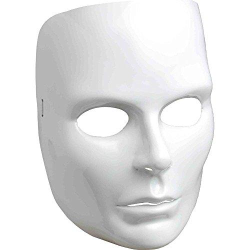 Forum Novelties White Full Face