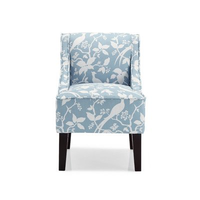 Marlow Bardot Slipper Chair Color: Robins Egg