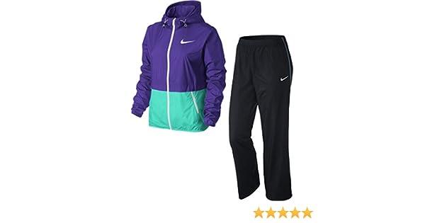 Nike Half Timer Warmup - Chándal para Mujer, Color Morado/Azul ...