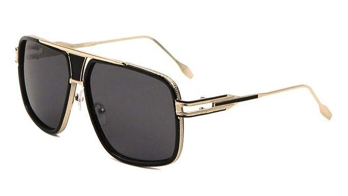 Amazon.com: Gazelle Tycoon Aviator anteojos de sol w ...