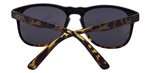 lentes Gafa sol carey color montura en para negro con en marrón y y ahumadas Aruba de xRxpOB
