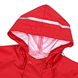 JiAmy Kids Toddler Rain Suit Waterproof Coverall