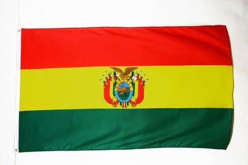 AZ FLAG Bandera de Bolivia 150x90cm - Bandera BOLIVIANA 90 x 150 cm: Amazon.es: Hogar
