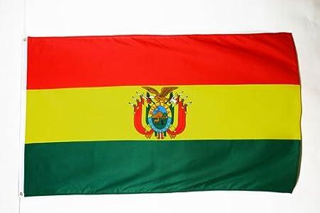 AZ FLAG Bandera de Bolivia 90x60cm - Bandera BOLIVIANA 60 x 90 cm ...